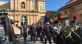 Donnalucata, il commosso ricordo dei carabinieri Fava e Garofalo