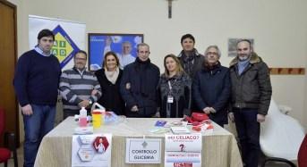 Screening gratuito di solidarietà ieri pomeriggio nell'ambulatorio della parrocchia di San Pietro in via Lazio a Ragusa