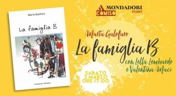 """Comiso, alla Mondadori """"va in scena"""":  """"La famiglia B"""" della scrittrice Marta Galofaro"""
