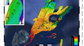 Un campo di camini nel fondale dell'Isola di Panarea – VIDEO