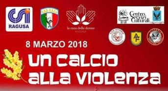 CSI Ragusa, una maratona calcistica per di no alla violenza sulle donne