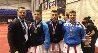 Karate. La Nazionale Italiana conquista l'oro in Olanda