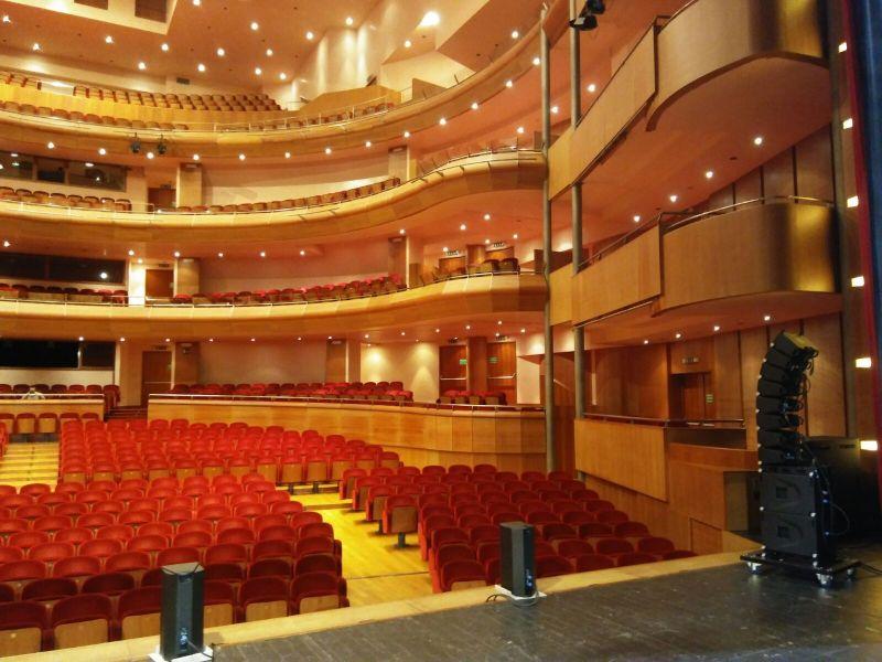 Impianti tecnici per teatri cinema e auditorium