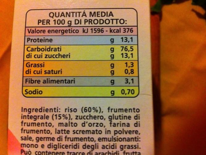 Etichette alimentari Informazioni sulle etichette dei cibi  Guida turistica dItalia