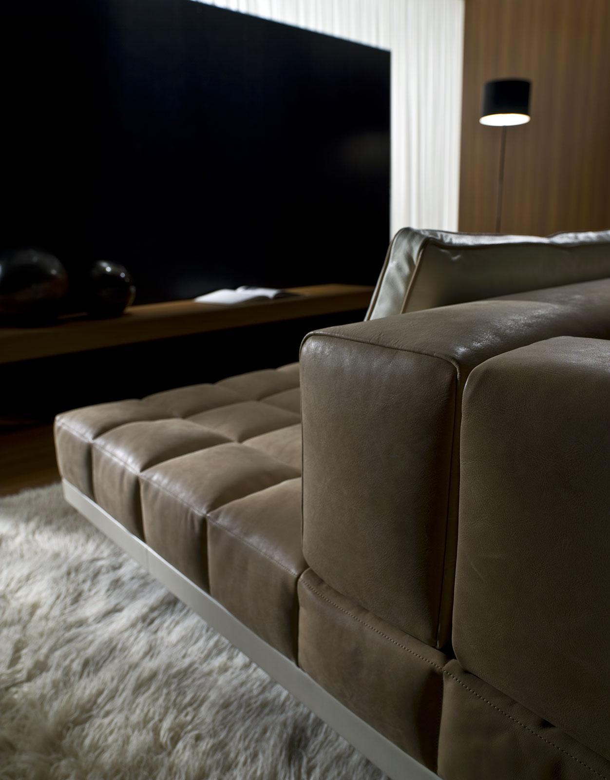 leather sofa manufacturers italy bed mattress canada insula modular shop online dream design