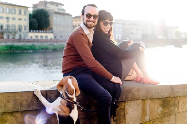 Meet Georgette, Nico and Ginger - girl in florence