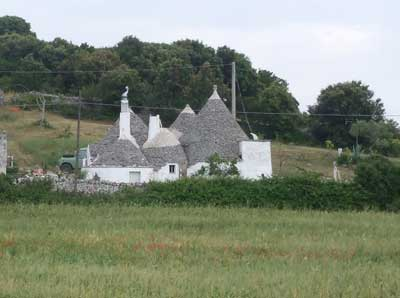 Countryside trullo outside Locorotondo