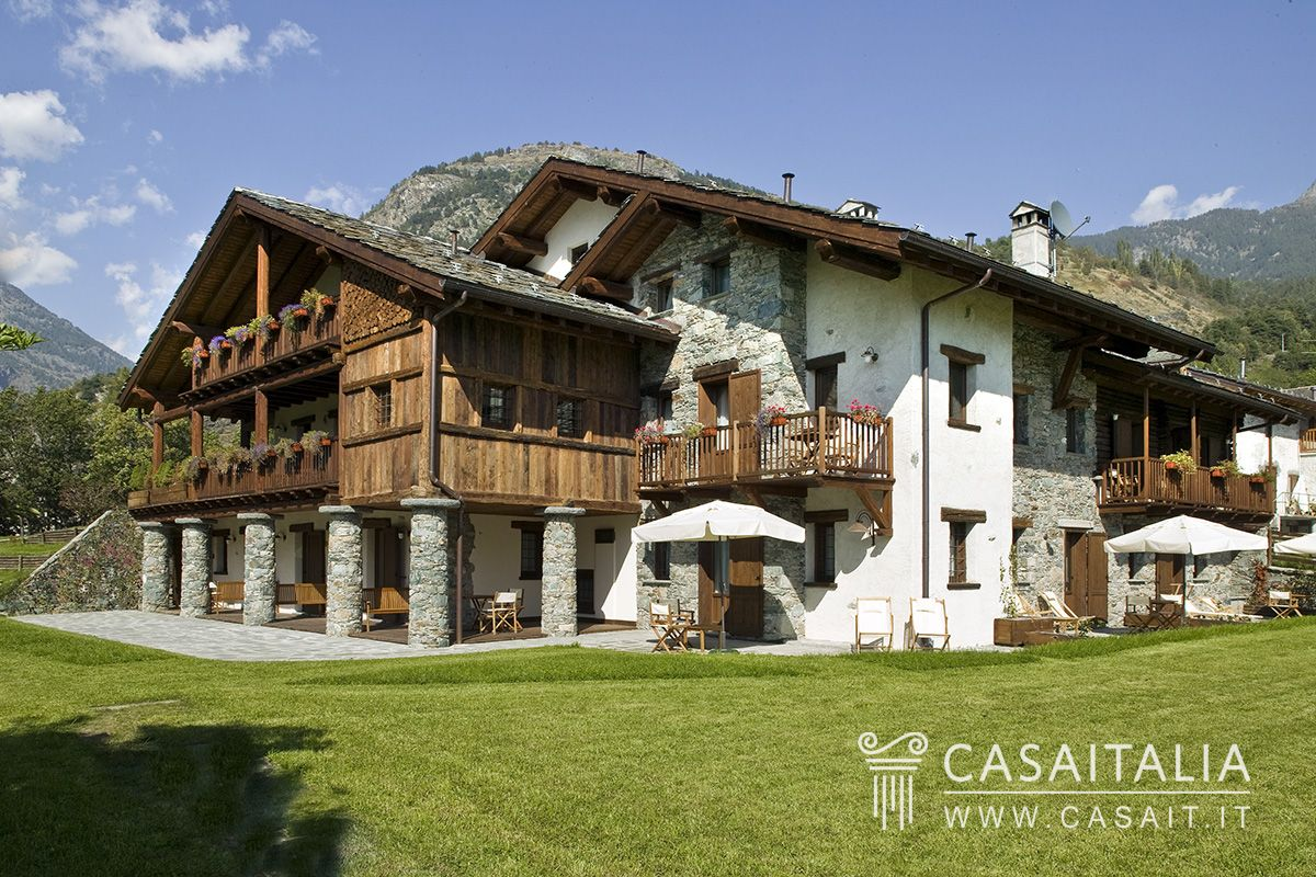 Hotel and spa for sale in Valle dAosta