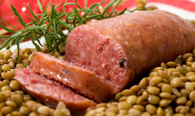 Christmas Food Traditions Cotechino and Zampone from