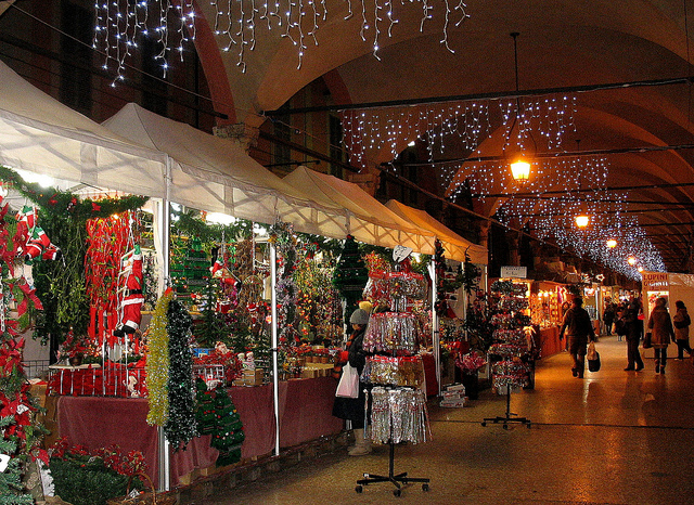 Bolognas Santa Lucia Fair Opens Christmas Markets Season