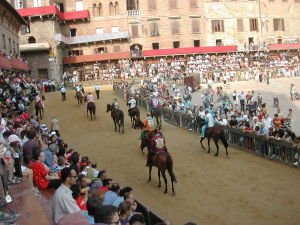 Can't get Palio tickets?  Watch the trials...