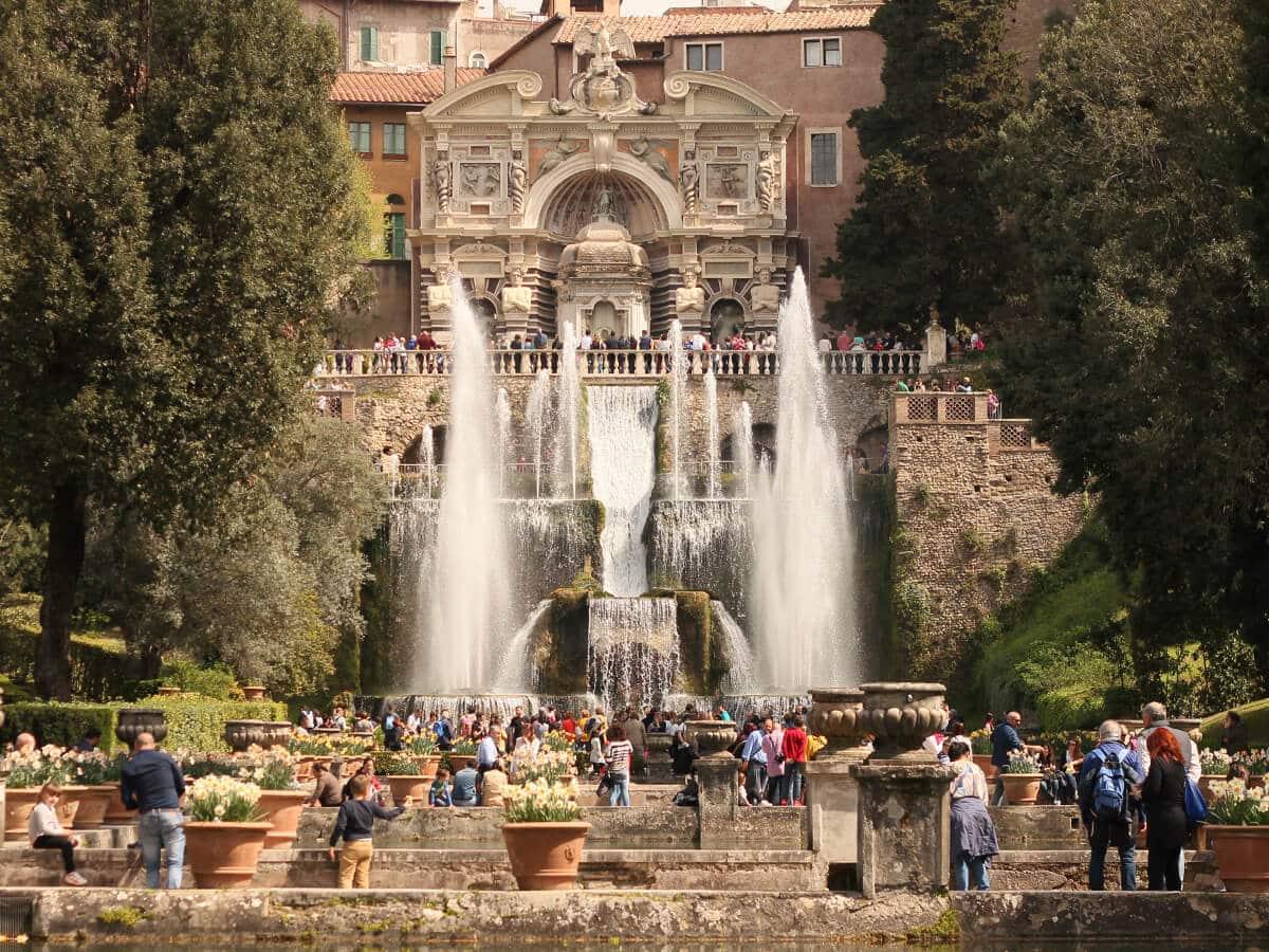 Villa d\'Este – a gardening work of art | Italy Rome Tour