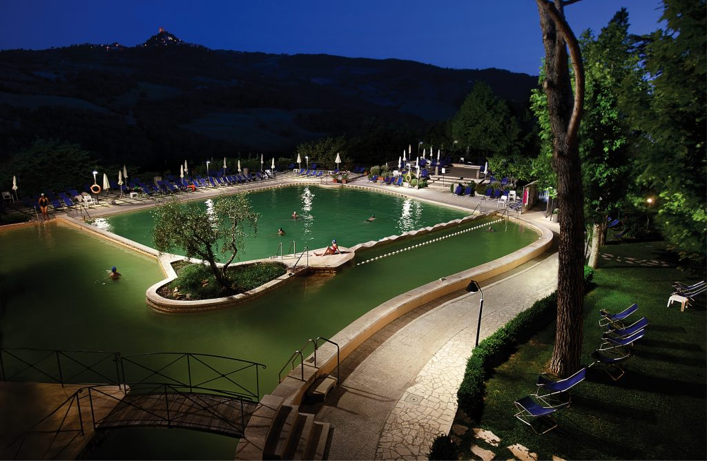 Best Spas in Italy from thermal bathing to wellness
