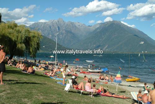 Domaso Lago di Como Guida vacanze Domaso hotel Lago di Como turismo campeggi agriturismo alberghi appartamenti