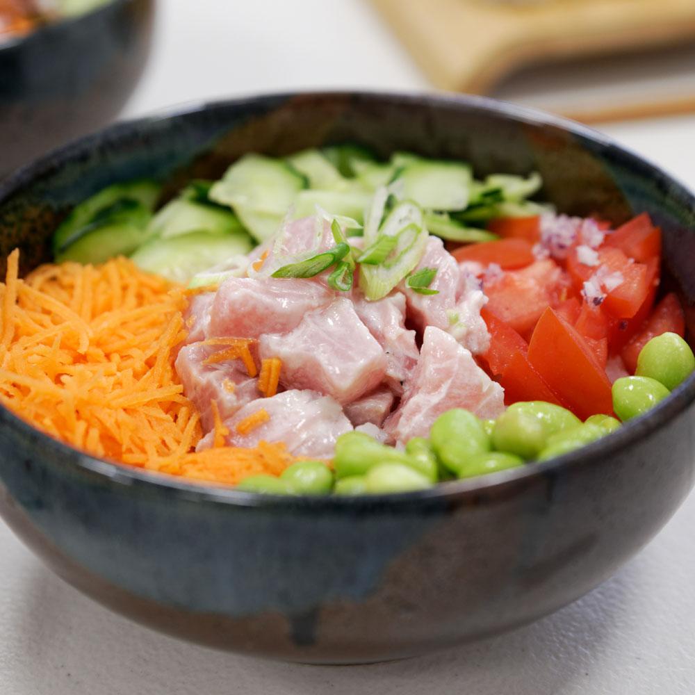 Poke Bowl au restaurant japonais à Marseille Itamae