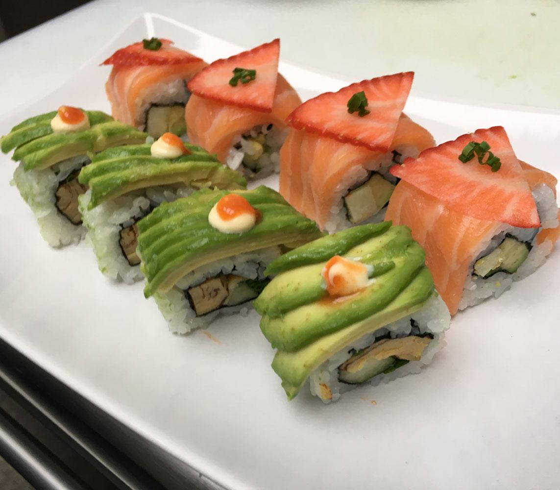 Rolls du chef chez Itamae restaurant japonais à Marseille