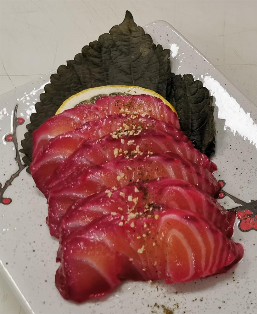 Saumon gravlax - Itamae restaurant japonais et sushi à Marseille