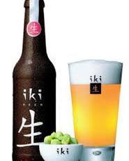 Bière bio Iki chez Itamae