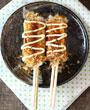 Sucettes okonomiyaki chez Itamae restaurant japonais à Marseille
