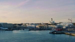 Helsingin Eteläsatamaa voi katsella verkkokameran kautta.