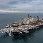 Nord Stream 2 -putkilinjan rakennustyöt jatkuvat Suomen talousvyöhykkeellä