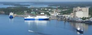 Naantalin sataman kokonaisliikenne yli 7,57 miljoonaa tonnia vuonna 2019