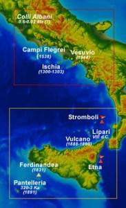 volcanes italia