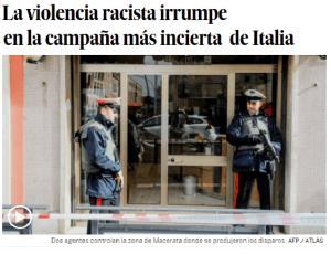 macerata racismo