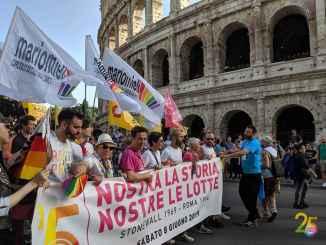 orgullo gay roma