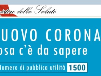 coronavirus italia teléfono