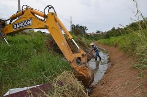 Canal recebeu limpeza (PMI)