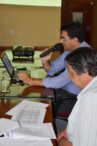 Membros do Executivo apresentaram dados aos vereadores (CMI)