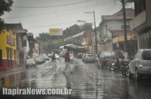 Chuvas são previstas em diversas regiões do país