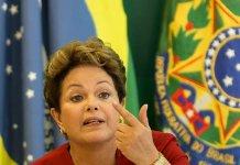 Em rede nacional, Dilma criticou 'guerra ideológica' (Divulgação)