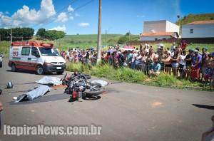Acidente tirou a vida de três no Barão; abrindo um saldo trágico neste ano (Paulo Godoy)