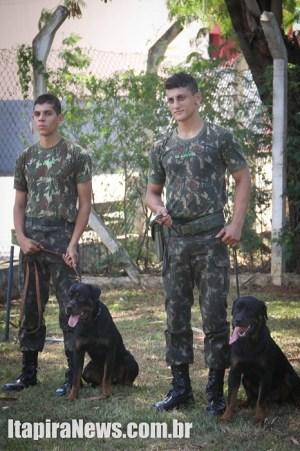 Polícia do Exército também participou do encontro
