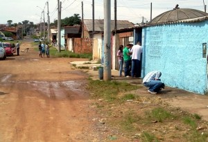Rua do Jardim Xangai, local em que ocorreu um dos 13 homicídios e Campinas (Dorinaldo Oliveira/AAN/Correio Popular)