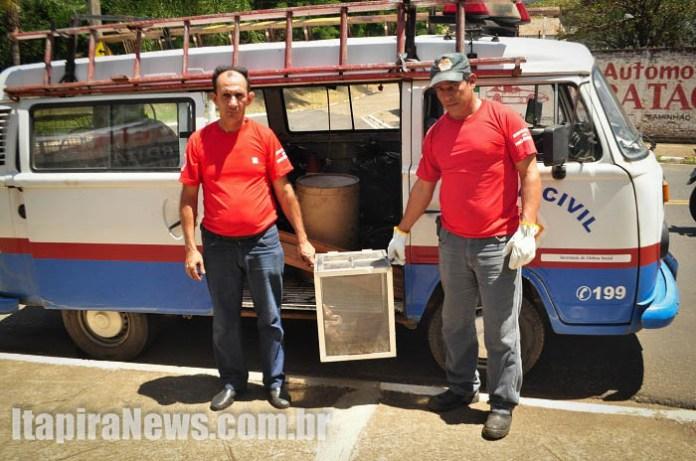 Agentes Luiz e Luciano também trabalharam na ocorrência