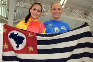 Diovana e Paulo Veneri estão entre os convocados para a Seleção Brasileira (Reprodução)