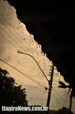 Na terça já houve registro de chuvas em alguns bairros