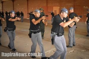 Policiais de Itapira participaram das aulas