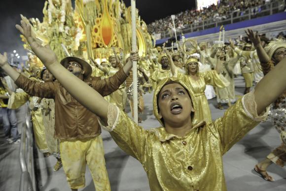 Mocidade Alegre vence carnaval de 2014 e alcança tricampeonato (Marcos Lins/SPTuris)