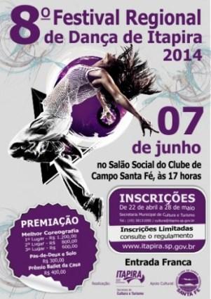 8º Festival de Dança de Itapira (clique para ampliar)