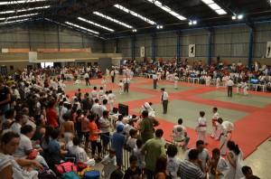 Competição de judocas lotou o ginásio do Passarella (Divulgação)