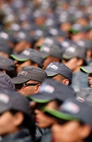 Policiais recebem promoção, em Itapira, 13 mudam de patente (Divulgação)