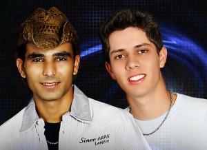 Dinho e Lucas tocam em Itapira neste sábado (Divulgação)