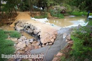 Nível do rio baixou demais e demandou ação emergencial