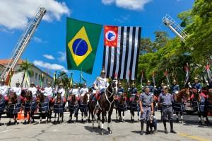 132 aspirantes foram formados na capital (Alexandre Carvalho/A2 Fotografia)