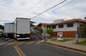 Carreta-hospital já está em Itapira para novo mutirão (Divulgação)