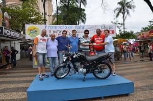 Souza faturou uma moto zerinha (Divulgação)